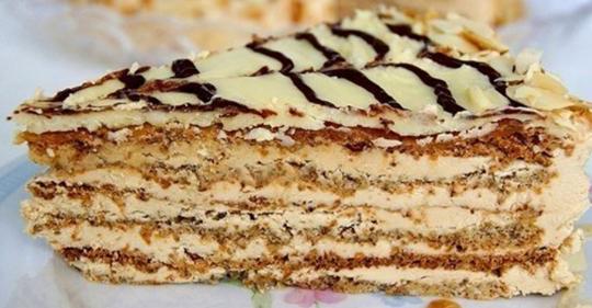 Незабываемый и королевский: нежнейший торт Экстерхази