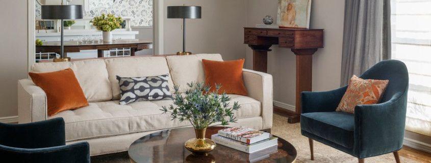 Оформление гостиной комнаты площадью 18 квадратных метров