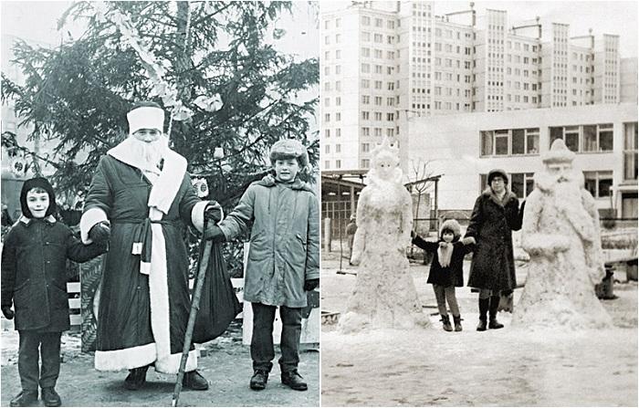 11 колоритных новогодних фотографии из 1970-х