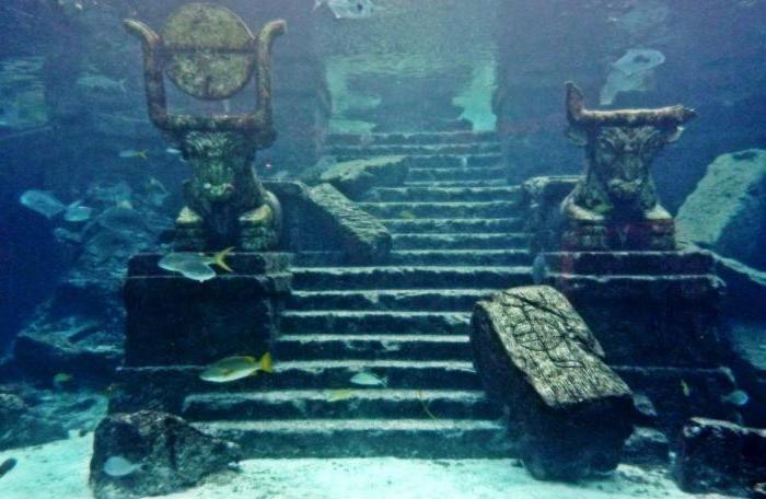 В Японии обнаружили подводный древний город