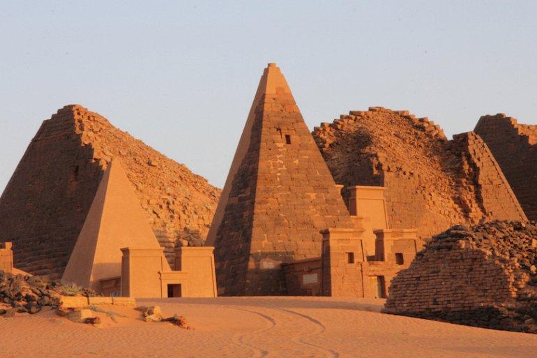 Город Мероэ и загадочные пирамиды Судана