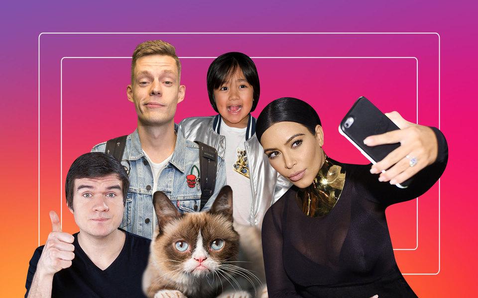 Итоги десятилетия: 10 главных героев эпохи соцсетей — от Ким Кардашьян до Юрия Дудя