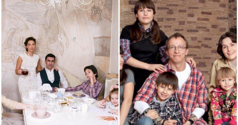 Отцы-молодцы: отечественные знаменитости, у которых большая семья