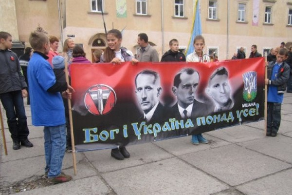 14 октября 2014 на Украине. Марши.