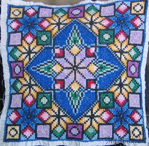 Схемы вышивки болгарским крестиком