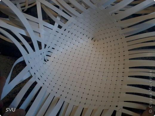 Мастер-класс Плетение Плетение корзинки из упаковочной полипропиленовой стреппинг ленты Полиэтилен фото 7