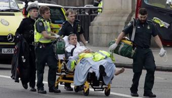 Терракт в Лондоне: 5 убитых и 40 раненных