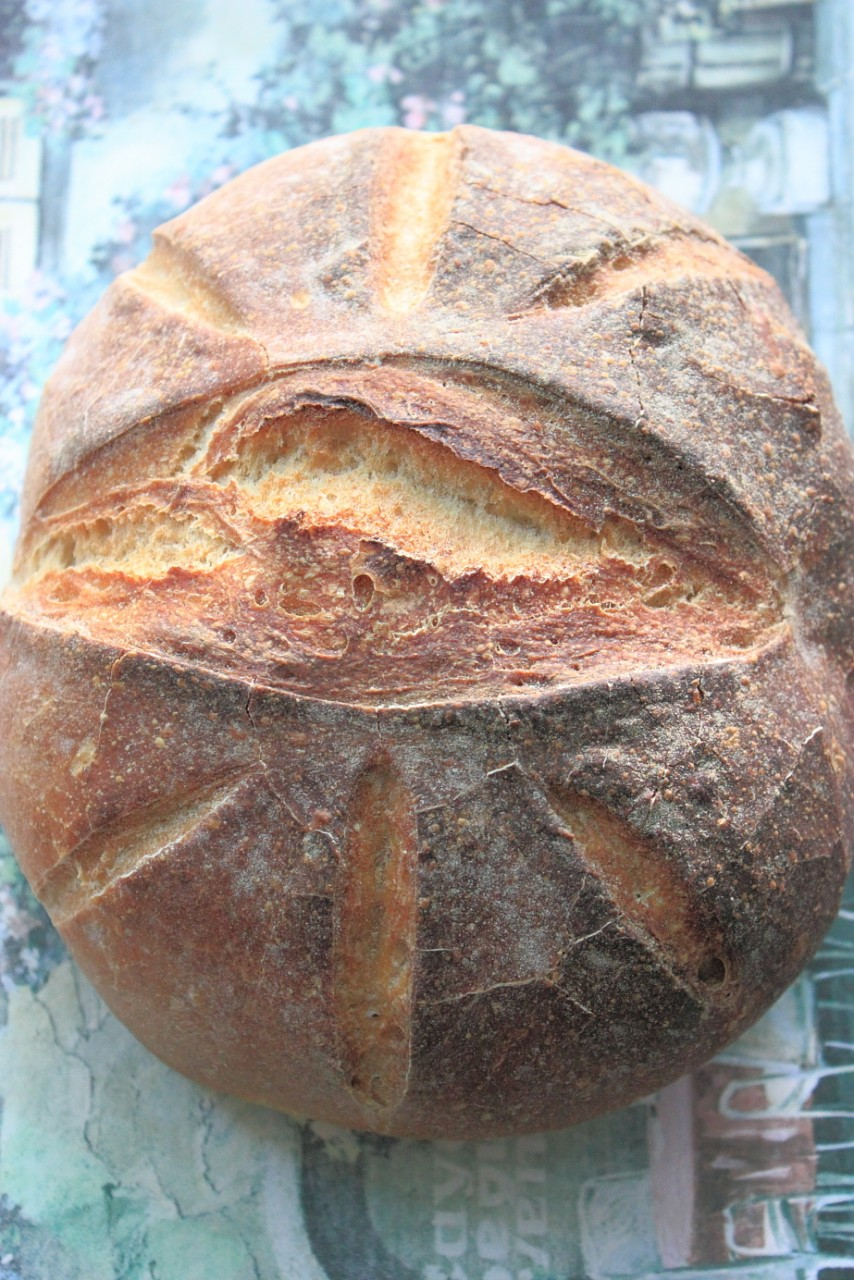 Хлеб  пшенично - ржаной ( на закваске )