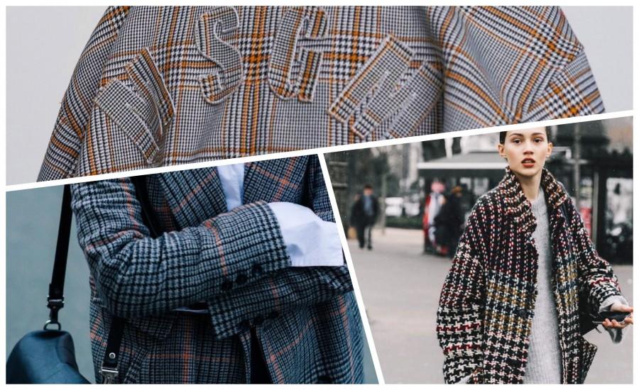 Все хотят. Где недорого купить три самых модных пальто в клетку?