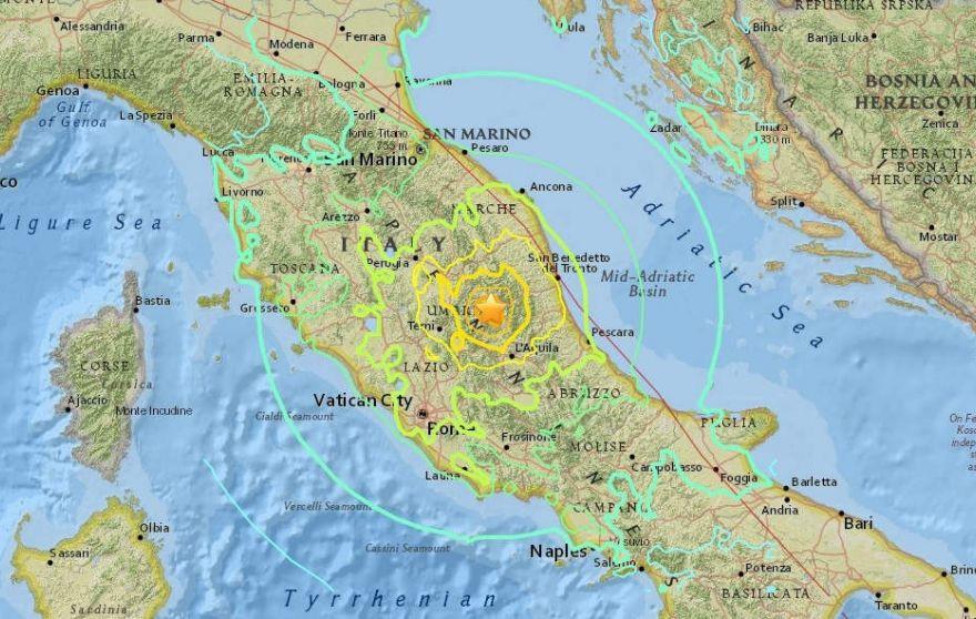 В Италии зафиксированы новые землетрясения