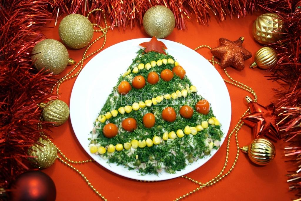 новые рецепты салатов и блюд на новый год