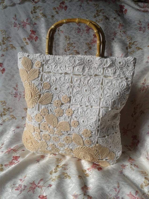 Создание весенне-летней сумочки