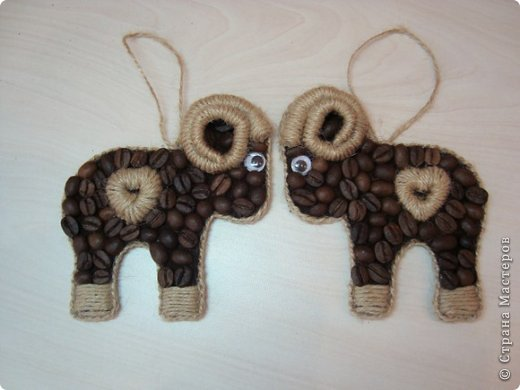 Кофейные барашки символ 2015