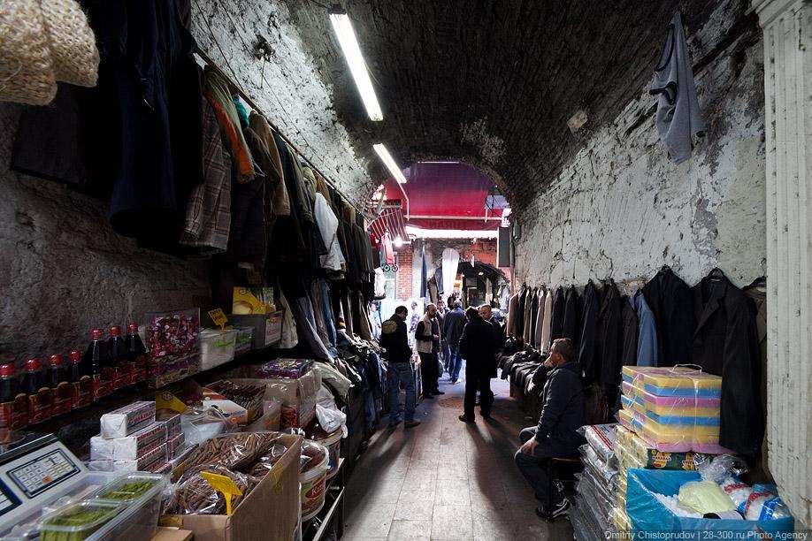 Стамбул. Рыбаки и старые рынки.