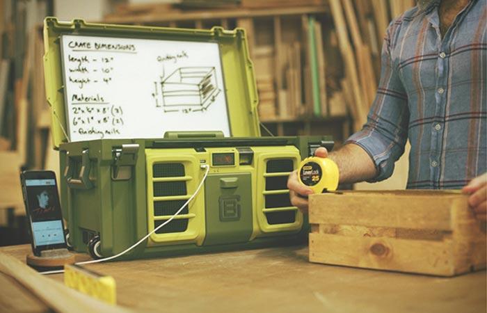 Первый в мире «умный» ящик для инструментов