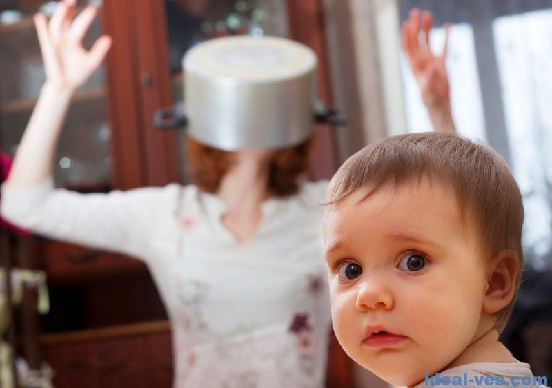 Нет сил на ребенка