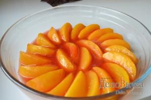 Карамелизированные персики