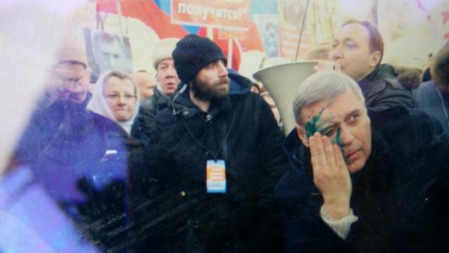 Марш памяти Немцова возглавил зеленый Касьянов