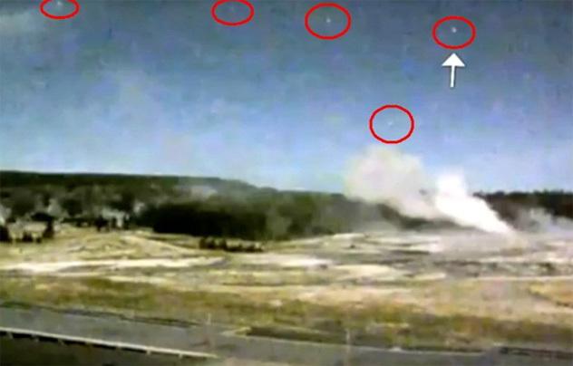 Над американским супервулканом зафиксировали небывалую активность НЛО