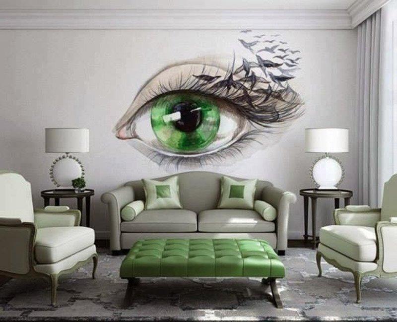 10 идей декора стен