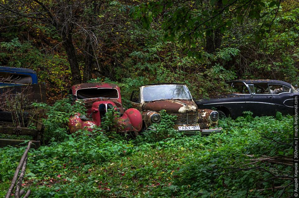 Музей или кладбище автомобилей?