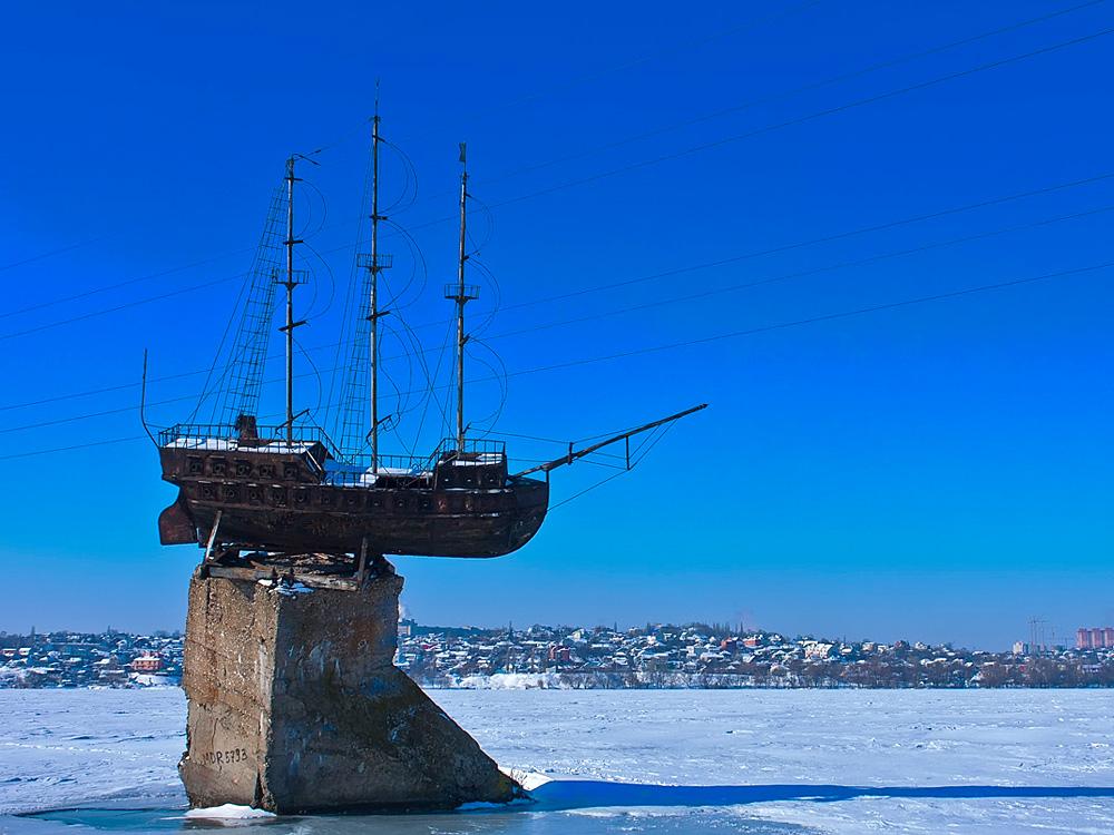 История одного памятника кораблю
