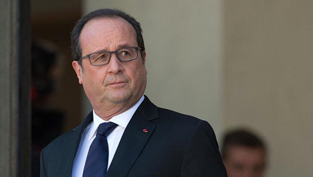 Олланд назвал взрыв в парижском офисе МВФ терактом