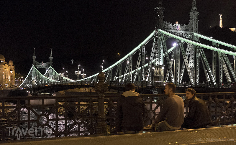 Прогулки по вечернему Будапешту