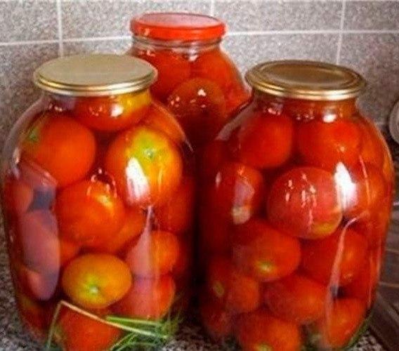 Сладкие помидоры без уксуса с корицей!