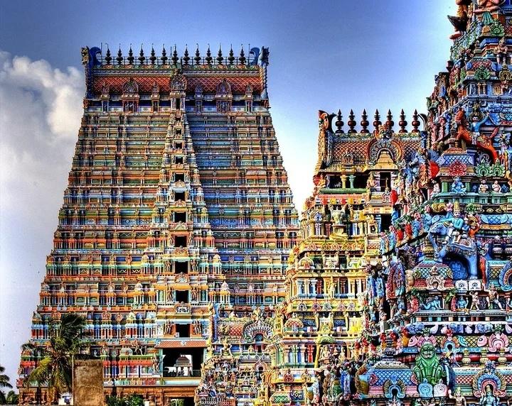 Древний закрытый храм Ранганатхасвами