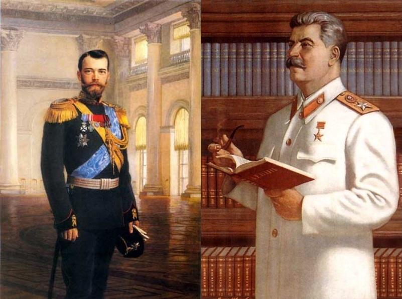 Кто есть кто николай второй и сталин