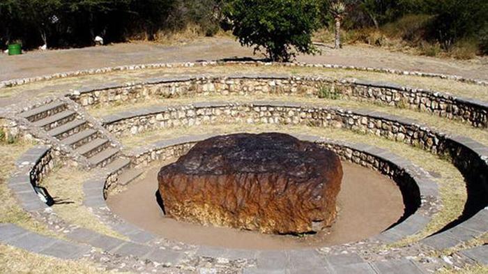Как выглядит самый крупный метеорит, упавший на Землю