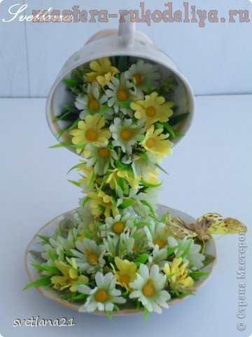 Цветочные чашечки