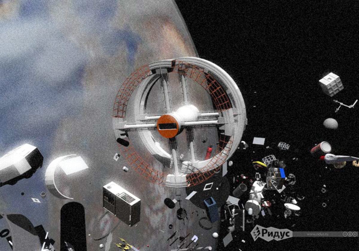 Видео теста гарпуна для сбора космического мусора попало в Сеть