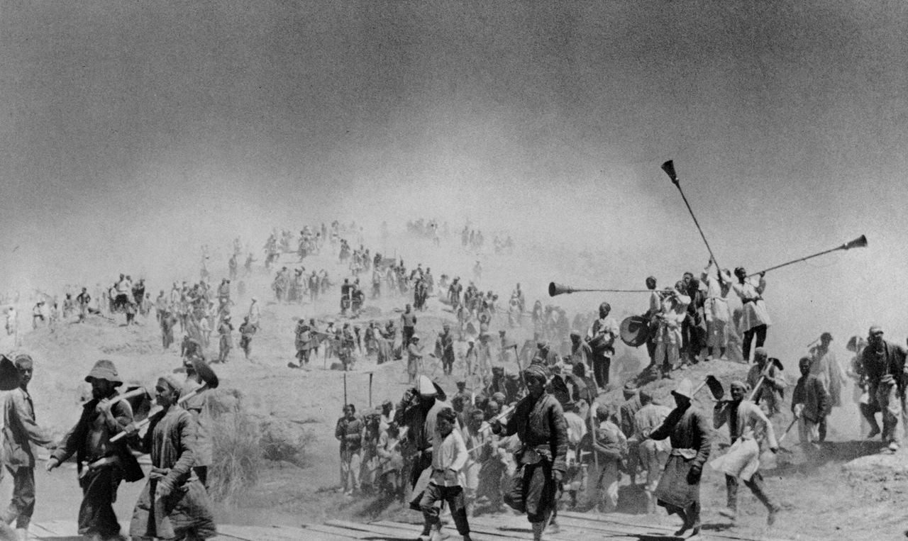 1939.Народная стройка Большого Ферганского канала.Узбекистан.