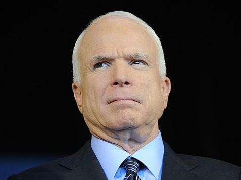 Маккейн: говорить с Путиным мы будем только с позиции силы