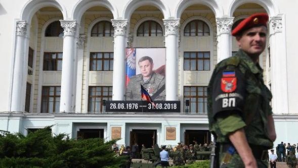 В ДНР установили заказчиков и исполнителей убийства Захарченко
