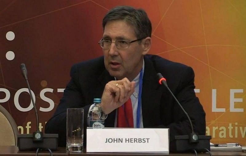 Джон Хербст: Цель санкций  -…