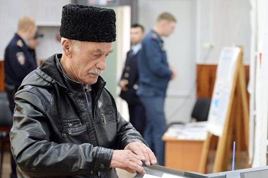 Первые результаты выборов в Крыму: Путин набирает больше 91%