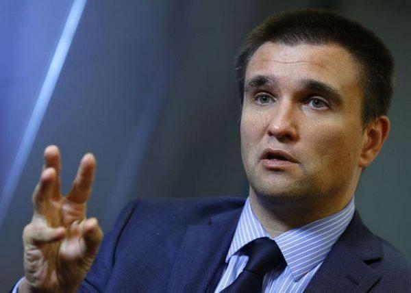 МИД Украины Климкин пообещал вернуть свободу жителям Крыма