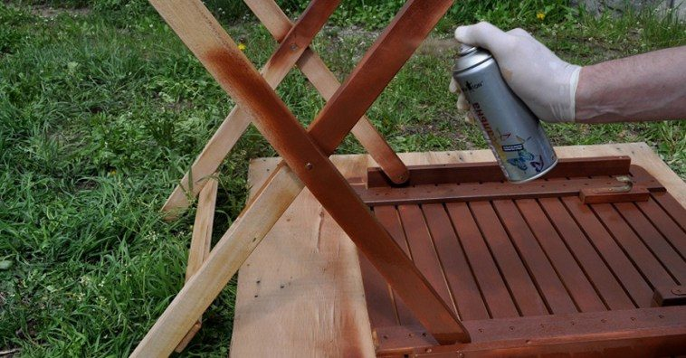 Реконструируем мебель с помощью аэрозольной краски