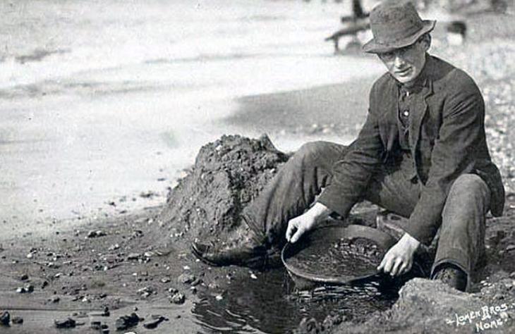 Калифорнийский золотоискатель начала XX века