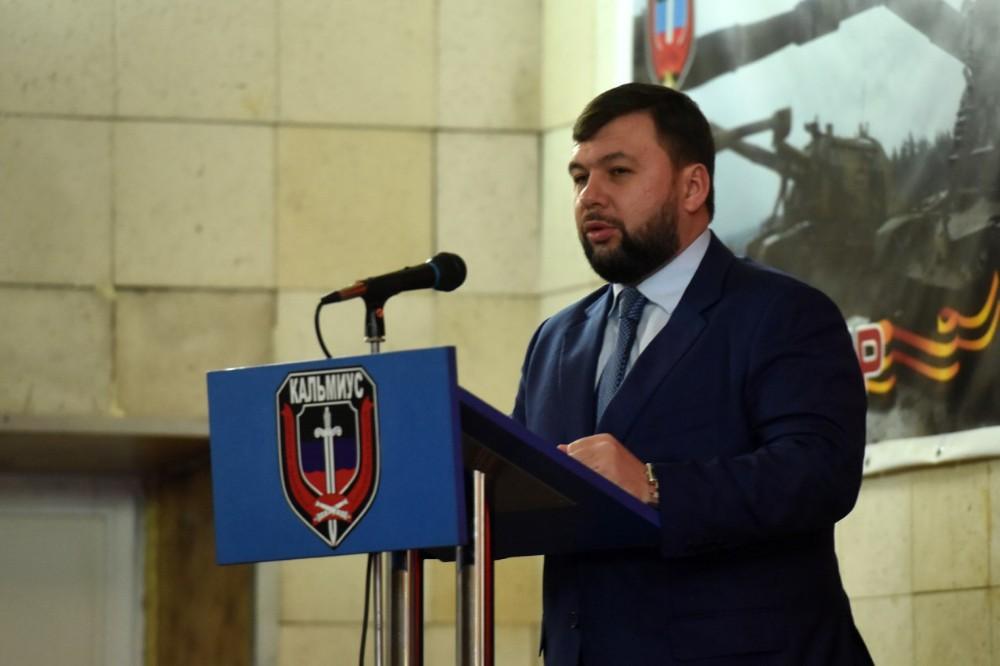 Пушилин – защитникам ДНР: В любой момент можно ожидать агрессии Украины