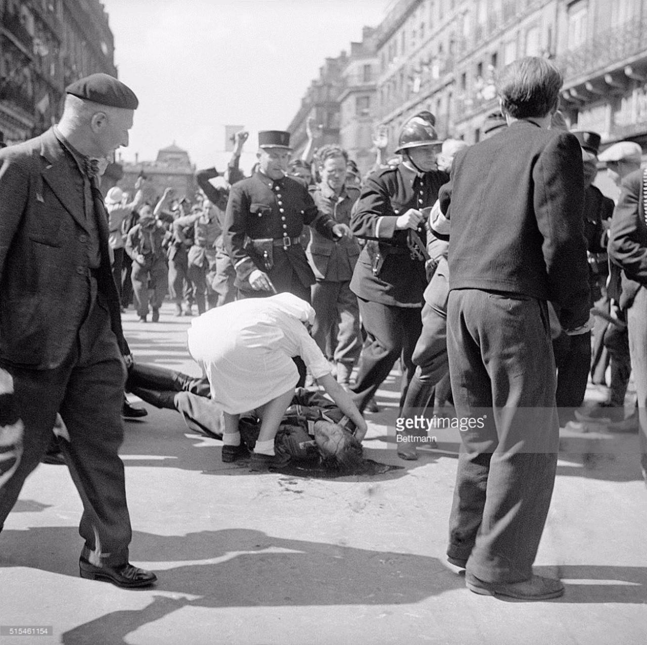 Нацисты и коллаборационисты.Франция.