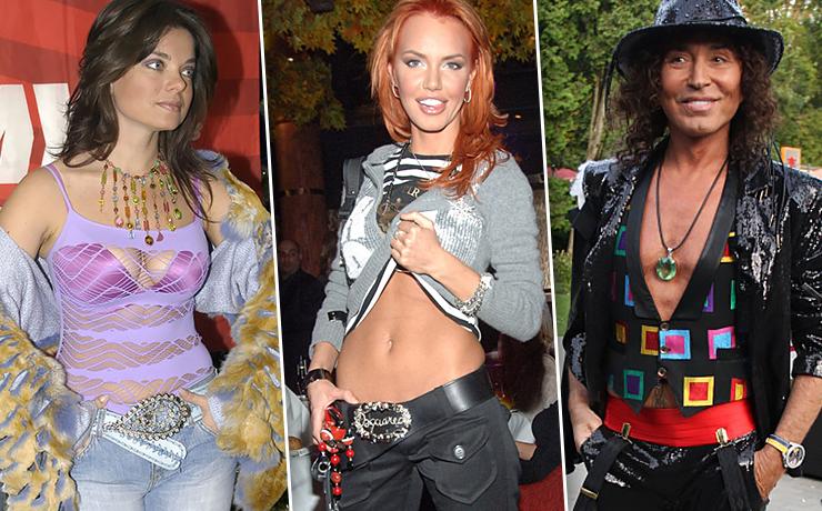 Мода 2000-х: самые безумные образы российских звезд