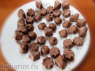Как дома сделать конфеты