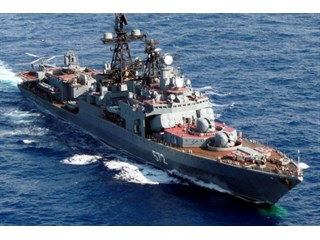 Опубликовано видео инцидента кораблей ВМФ России и ВМС США