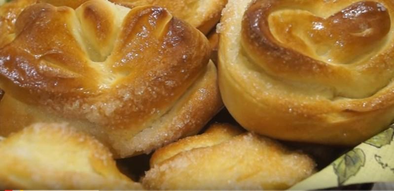 Вкусные пышные булочки рецепт с фото