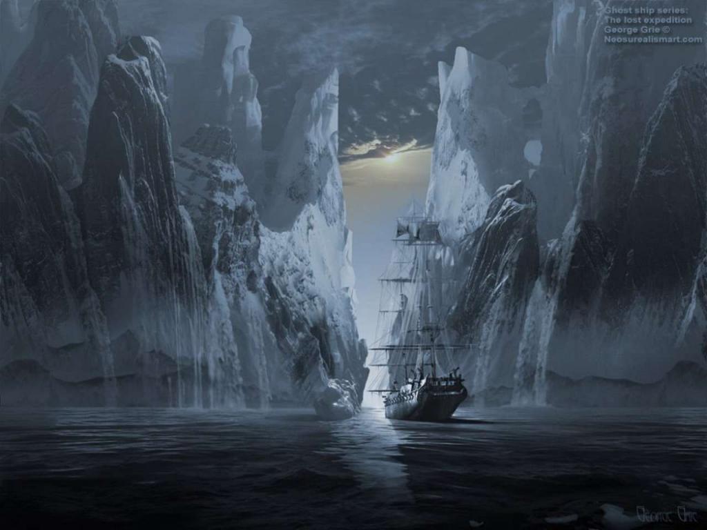 Загадка «Октавиуса»: легенда о корабле-призраке, замерзшем во льдах со всей командой