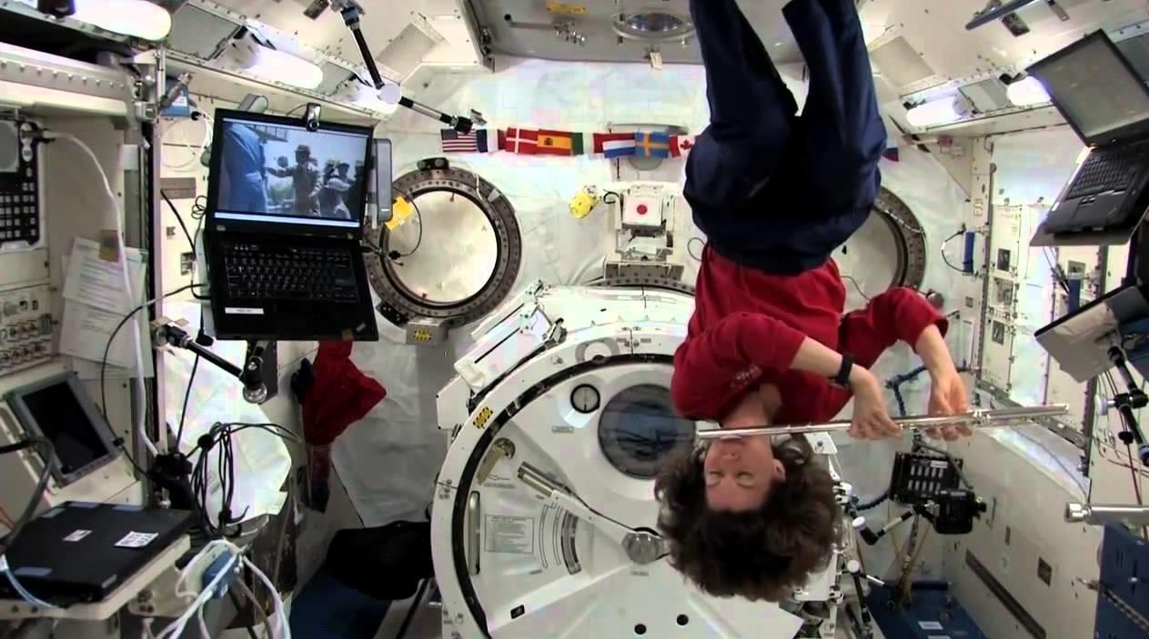 Типичный день на МКС: как развлекаются космонавты